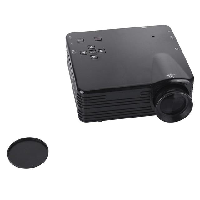 VisionTek VS32 LCD LED Portable Projector 500 lumens 16:9 24W AV /SD/USB/VGA Home Theater 320*240 Multi-media Beamer/Proyector