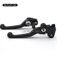 CNC Pivot Brake Clutch Levers For SUZUKI RM 85 125 250 2005 2012