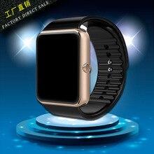 Bluetooth smart watch tragbare geräte unterstützung sim tf-karte mp3 smartwatch für apple android os telefon