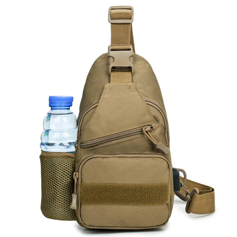 600D Outdoor Sports Bag Shoulder Military Camping Hiking Tactical Backpack Utili