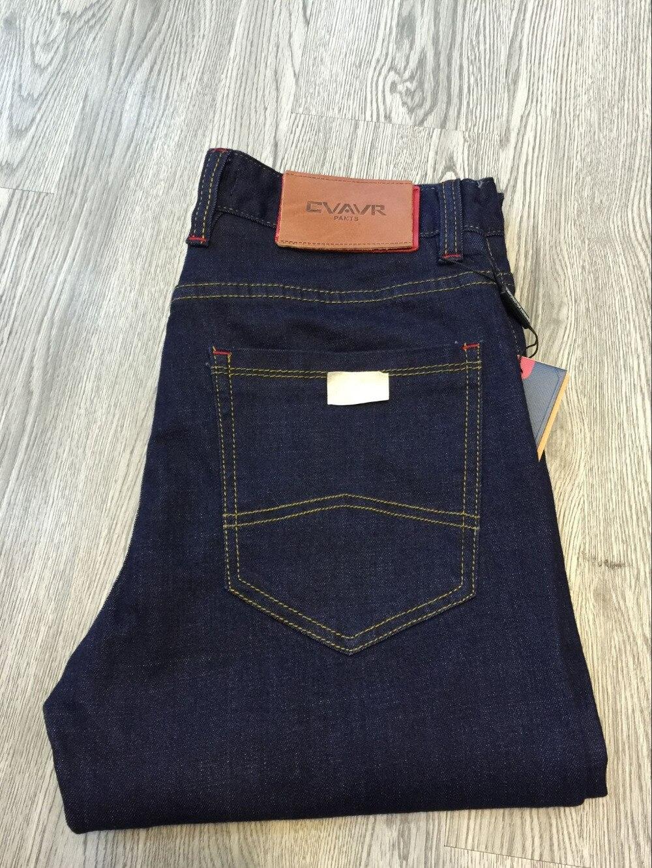 2018 Di Modo Caldo Jeans Diritti Dei Pantaloni Grigio Scuro Qualità Super-classico Dei Jeans Degli Uomini Casuali 13232 Pacchetti Alla Moda E Attraenti