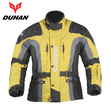DUHAN Motocross Riding Windproof Jaqueta Clothing with Cotton Liner Men's MX/Off-Road/Dirt Bike Motorcycle Racing Patrol Jacket