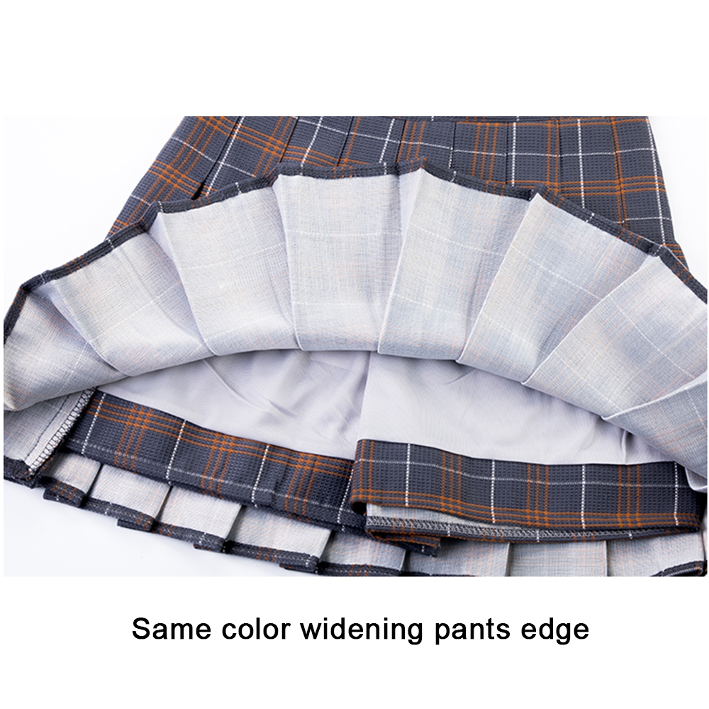 Plus Size Harajuku Short Skirt New Korean Plaid Skirt Women Zipper High Waist School Girl Pleated Plaid Skirt Sexy Mini Skirt 16