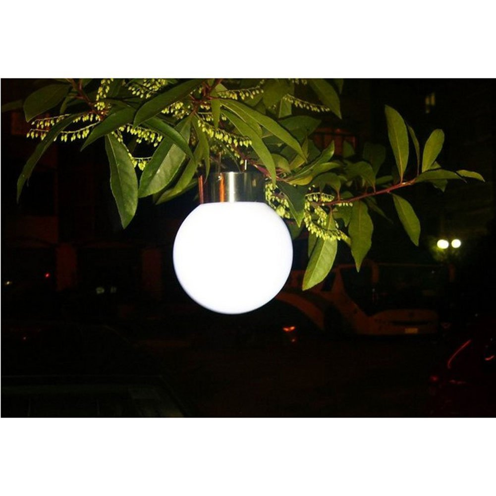 Outdoor Stainless Steel Solar Garden LED Lights Street Lamps Hanging Lamps ...