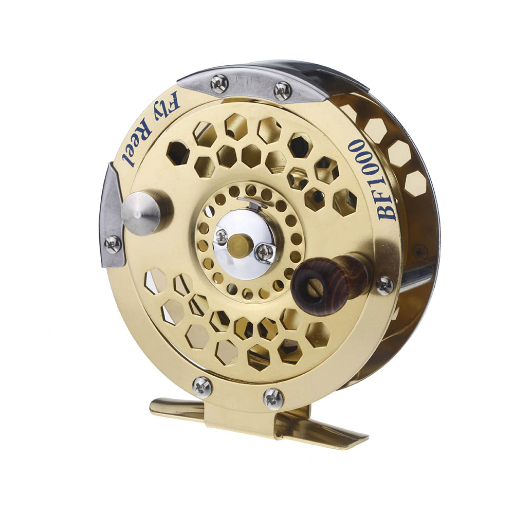 Fly fishing reel 1 1 full metal ultra light for Fly fishing reel reviews