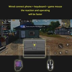 Image 5 - Sovawin G1X PlugและPlay PUBG Mobile Gamepad Controllerคีย์บอร์ดเมาส์Androidโทรศัพท์PC Converterอะแดปเตอร์สำหรับiPhone