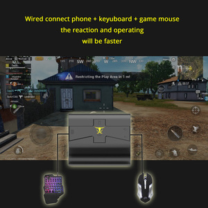 Image 5 - Sovawin G1X Plug and Play PUBG Mobile Gamepad Controller Gaming Keyboard Mouse Android Phone to PC Converter Adapter for iPhone