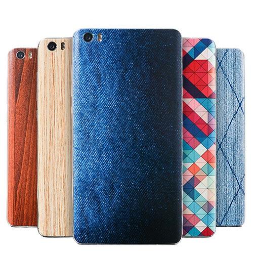 Para Xiaomi mi5 tapa de batería m5 Tapa de batería estilo bambú - Accesorios y repuestos para celulares