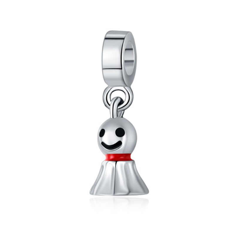 1 pc French Bulldog Bijoux Sieraden Bracciale Charms Fit สร้อยข้อมือ Pandora เดิมน้ำหอม Mujer เครื่องประดับ Charm