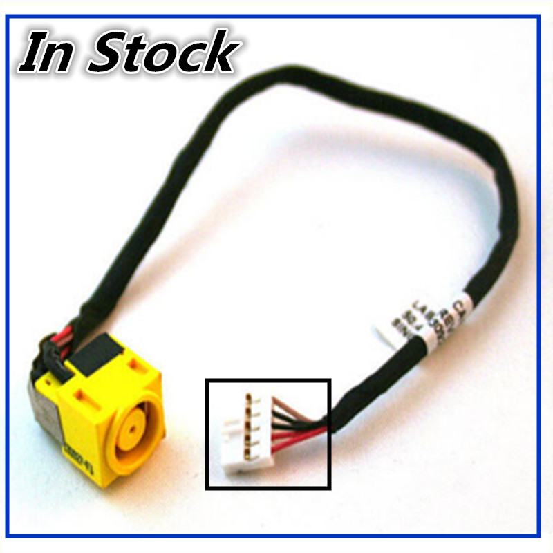 New Laptop DC Power Jack Cable Charging Socket Plug Port Wire Cord For <font><b>Lenovo</b></font> B580 B590 M590 <font><b>V580</b></font> image
