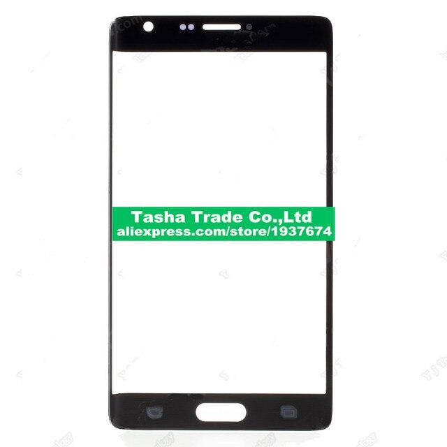 Оригинальный Сенсорный экран Стекла сенсорная панель Объектив Стекло лен Для Samsung Galaxy Note Edge N9150 N915-Черный