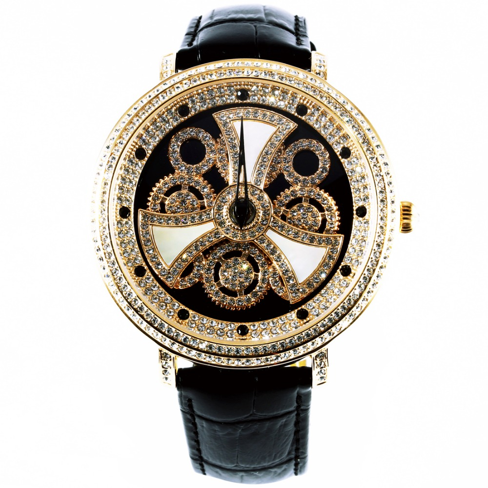 MATISSE Fashion Austria Crystal Rotatable Dial Lady Women Buiness Quartz Watch Wristwatch серьги modis серьги