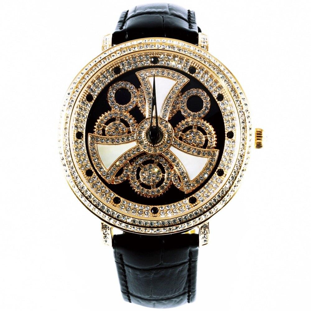 MATISSE Fashion Austria Crystal Rotatable Dial Lady font b Women b font Buiness Quartz Watch Wristwatch