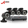 ANRAN 4CH CCTV System 1080N HDMI DVR 4PCS 720P 1800TVL IR Outdoor Camera Home AHD Security System Surveillance Kits Email Alert