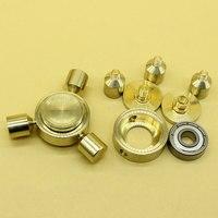 Fidget Spinner EDC Hand Finger Spinner Spin Toy Bearing Toys Yellow Bronze