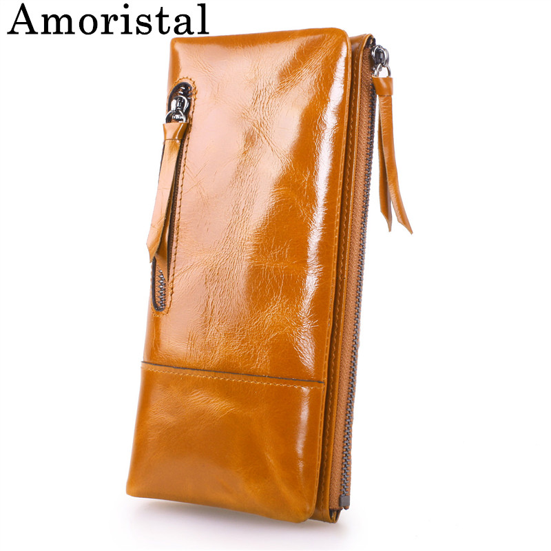 Genuine Leather Women Day Clutch Bags Retro 2018 New Cowhide Clutches Candy Color Bag Eevening Party Ladies Handbag Purse B420 new designer woman oil wax genuine leather bag cowhide fashion day clutches long purse female ladies handbag for men famous bags page 4