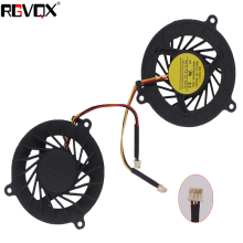 New Laptop Cooling Fan For ASUS A6 A6000 3 pins PN: GC054509VH-A CPU Cooler Radiator