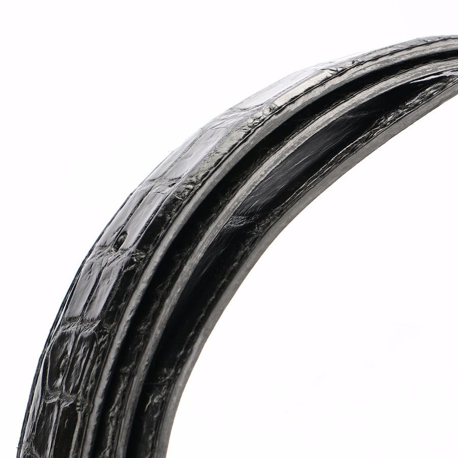 [BATOORAP] 2019 высококачественный мужской ремень из крокодиловой кожи ремни роскошные брендовые дизайнерские ремни черный/коричневый - 6