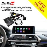 Carlinkt Реверсивный Камера Интерфейс модуль для BMW X3 X4 X5 с НБТ Системы 8,8 ''/10,2'' Экран Carplay Android Авто раствор