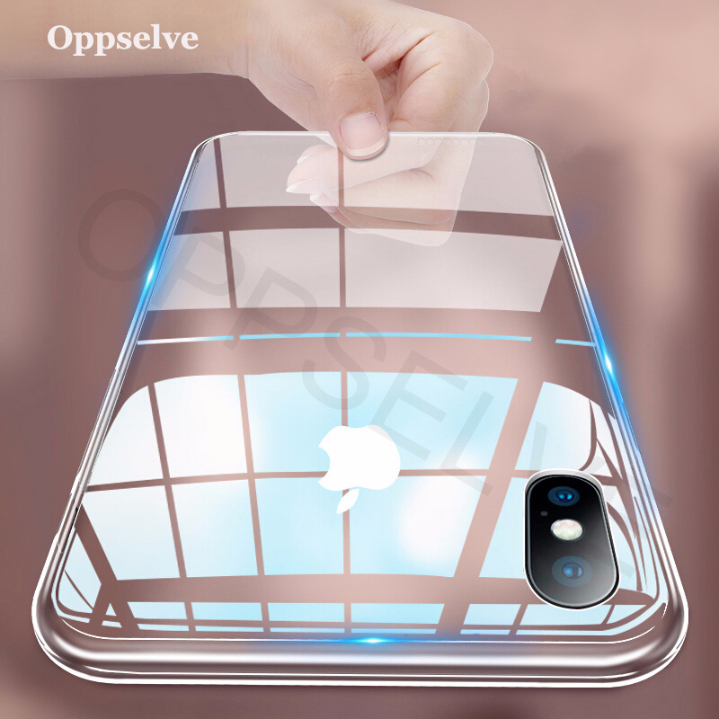 Luxury Case For iPhone X XS 8 7 6 s Plus Capinhas Ultra Thin Slim Soft TPU Silicone Cover Case For iPhone XR 8 Coque Fundas Capa(China)