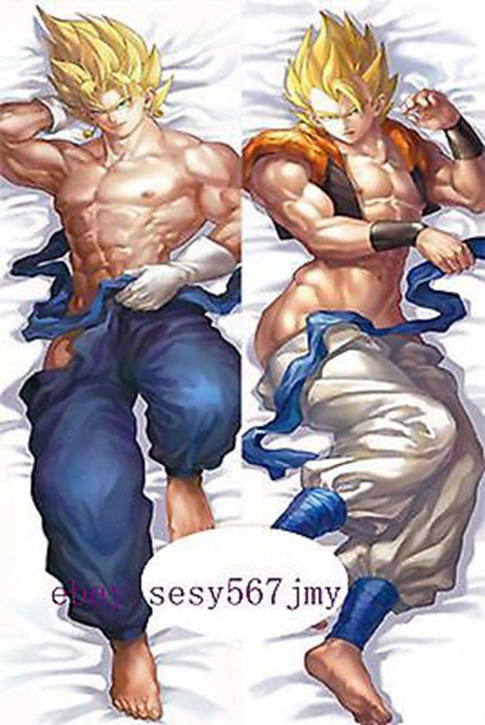 dragon ball z Goku Vegeta Anime Dakimakura Japanese Pillow Cover