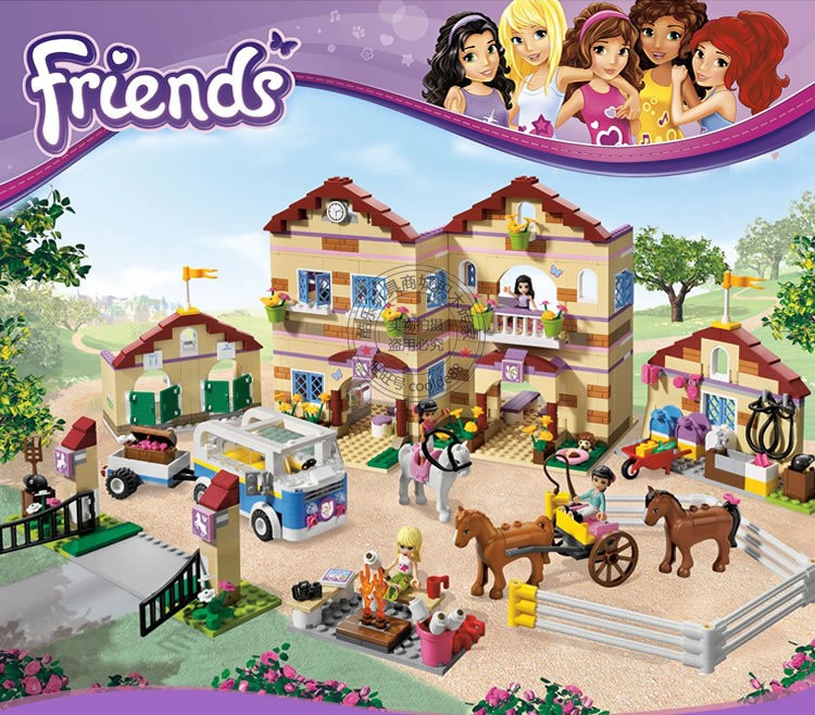 New Bela 10170 Friends Series Girls Housework Time Panorama Minifigures set Building Blocks girl toys Compatible