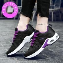 TESILIXIEZI Sneakers Women Breathable Mesh Casual Canvas Shoes Lightweight Basket Flats Female Platform Shoes Ladies Walking