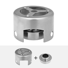 Outdoor Alcohol Stove & Rack Combo Set Mini Portable Alcohol Stove with Rack Windscreen for Camping Hiking Backpacking