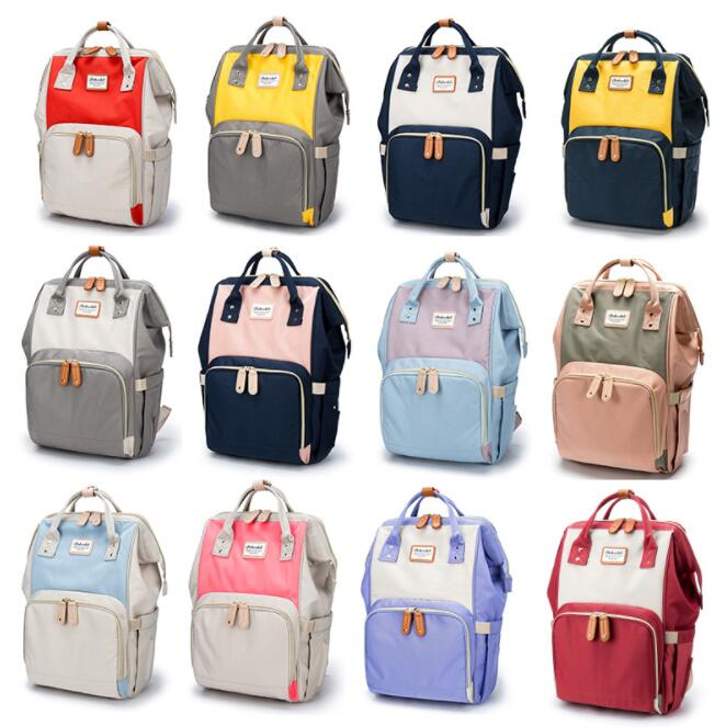 NEW Mommy Bag Backpack Diaper Bag Large Capacity Fashion Mother s Maternity Bag Baby Stroller Nappy