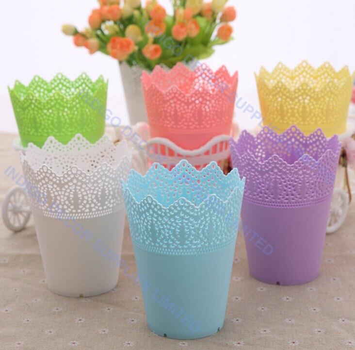 Online Shop Plastic Vase Table Vase Small Flower Arrangment Product