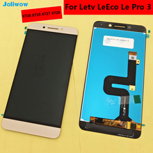 цены For letv le leeco pro 3 X720 LCD Display +Touch Screen 100% Original Digitizer Assembly Replacement Accessories For Phone