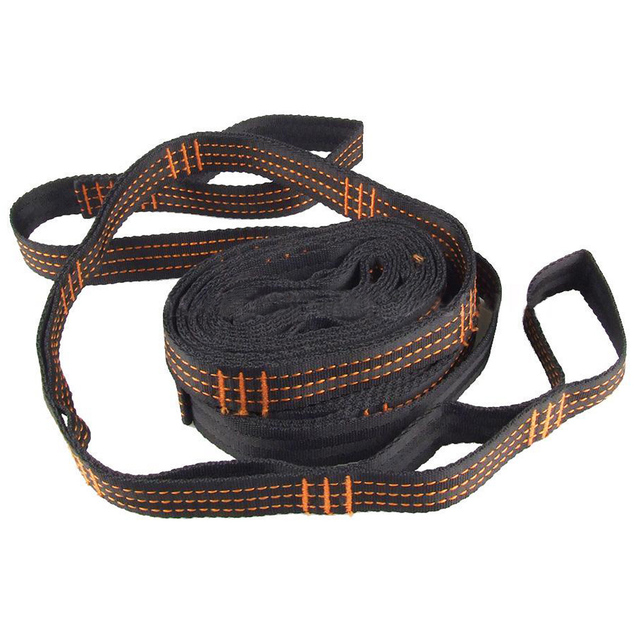 Practical Hammock Straps adjustable Tree Hanging Heavy Extension suspension Item size:15 loops: 300 * 2.5cm / 118.1 * 1.0in