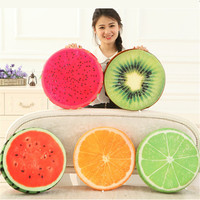 32CM One Piece Soft PP Cotton Stuffed Fruits Plush Toy Cushion Car Fruit Series Pillow Sleeping Pillows Birthday Gift 5 Style