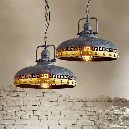 RH Industrial Vintage Loft Edison Pendant Lights Special Retro Hanging Lamp Fixtures For Home Lighting Bar Lamparas Colgantes loft industrial rust ceramics hanging lamp vintage pendant lamp cafe bar edison retro iron lighting