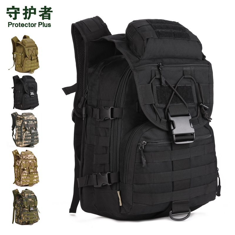 40L camouflage Military Assault Pack Backpack Army Molle Nylon backpack bag 40l molle tactics backpacks military travel waterproof pack large capacity man backpack bag camouflage army backpack j57