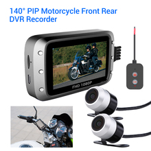 WONVON Motorcycle GPS Camera MT20 Dual HD Moto DVR 3 IPS Dash Cam 1080P Motion Detection Loop Recording Parking Monitor цена