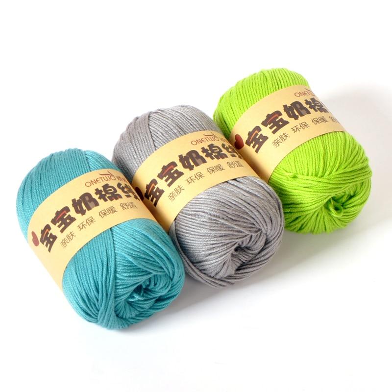 Knitting Yarn Aliexpress : Aliexpress buy brand baby wool cotton knitting yarn