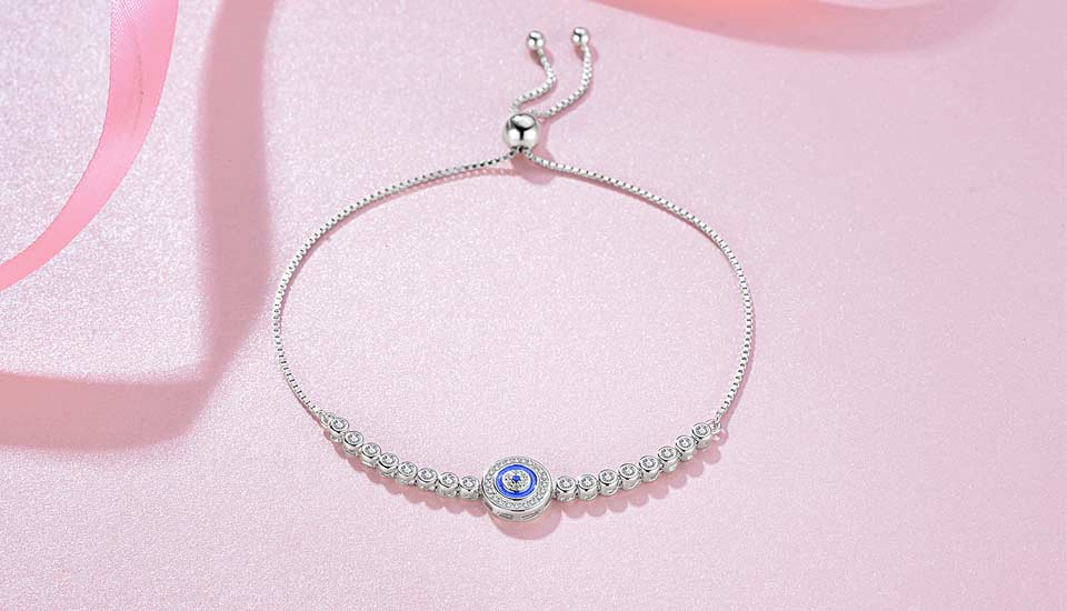 HTB15UuEvYGYBuNjy0Foq6AiBFXan - Luxury Brand Evil Eye Tennis Bracelet Hip Hop 925 Sterling Silver Bracelets for Women Blue Stone Beads Bracelet Mens Jewellery