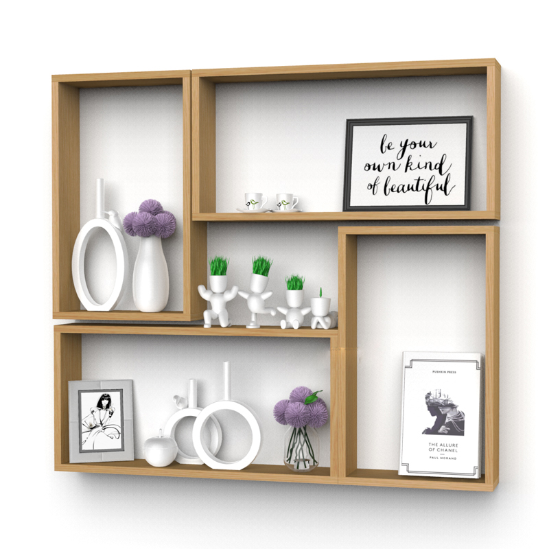 Stores Wall Rack Set Walls Amount Display Shelves Props Decorative Cabinet Bracket Racks Wooden Nail Polish Stationery Wall Rack american vintage 2 heads wall lamp indoor lighting bedside lamps double wall lights for home 110v 220v e27