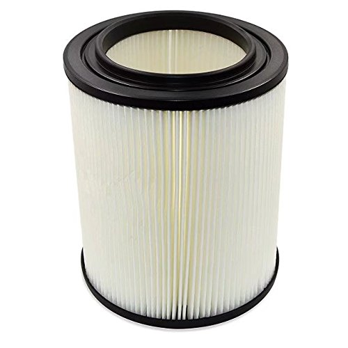 цена на Super Quality for Shop Vac Filter fits for Craftsman 17816, 9-17816 Replacement Wet Dry Vac Air Filter for Shop Vacuum Parts