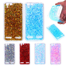 Lenovo K 5 K5 Plus A6020 5.0 Case Colored Shiny Glitter Silicone TPU Gel Soft Back Cover Case for Lenovo Vibe K5 K5 Plus A6020