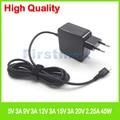 45 Вт USB-C адаптер переменного тока типа C зарядное устройство для ноутбука Acer Aspire Switch Alpha 12 SA5-271 SA5-271P Chromebook R 13 CB5-312T EUPlug