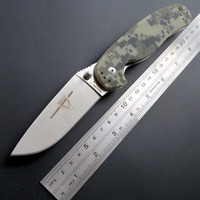 High Quality R1 Tactical Folding Knife AUS 8 Blade Steel Pocket Knives G10 Handle Outdoor Tool