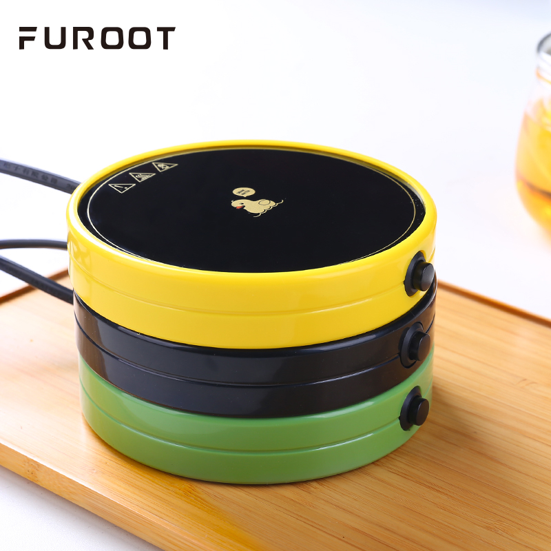 Furoot Multifunction Insulation Glass Warmer Tea Electric Heater Cup Mat Portable Hot Warmer Pad For Coffee Teapot Trivets in Teapot Trivets from Home Garden