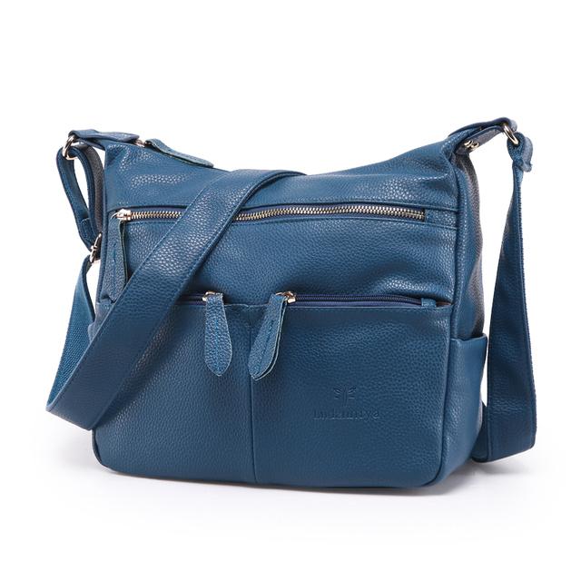 2017 Fashion Women Messenger Bags COMPOSITE GENUINE LEATHER Women's Handbag Women Bag Vintage Ladies Tote Crossbody Shoulder Bag