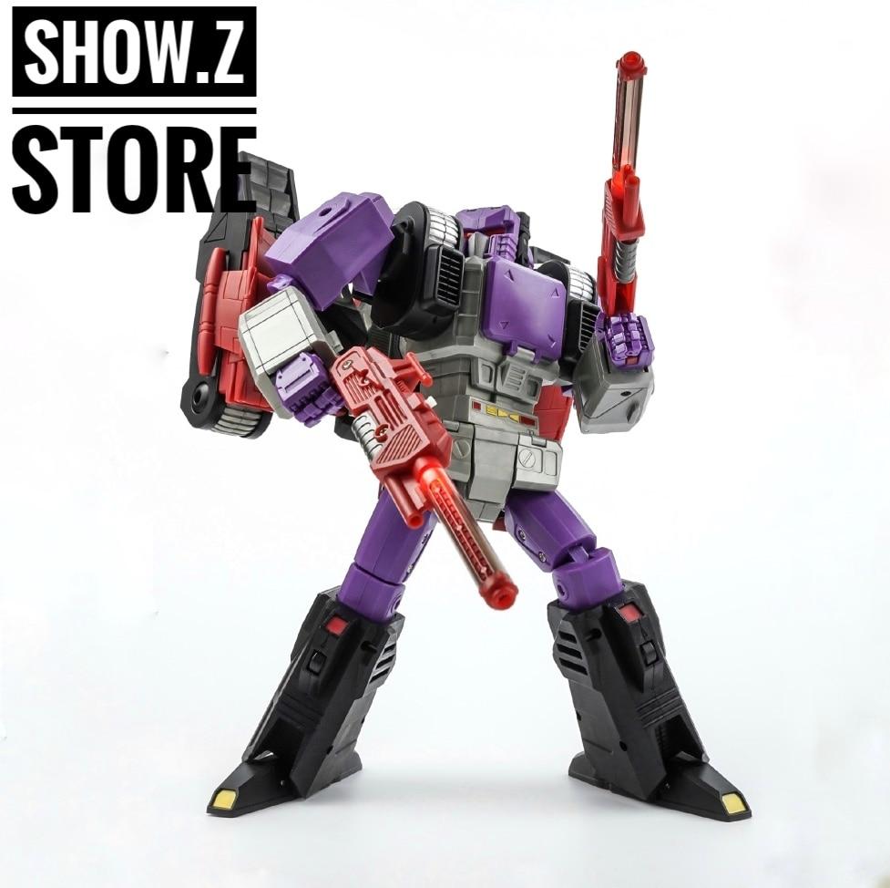 [Show.Z Store] KFC Toys E.A.V.I. Metal Phase 9A Kingorilla Keiths Fantasy Club Transformation Action Figure цена