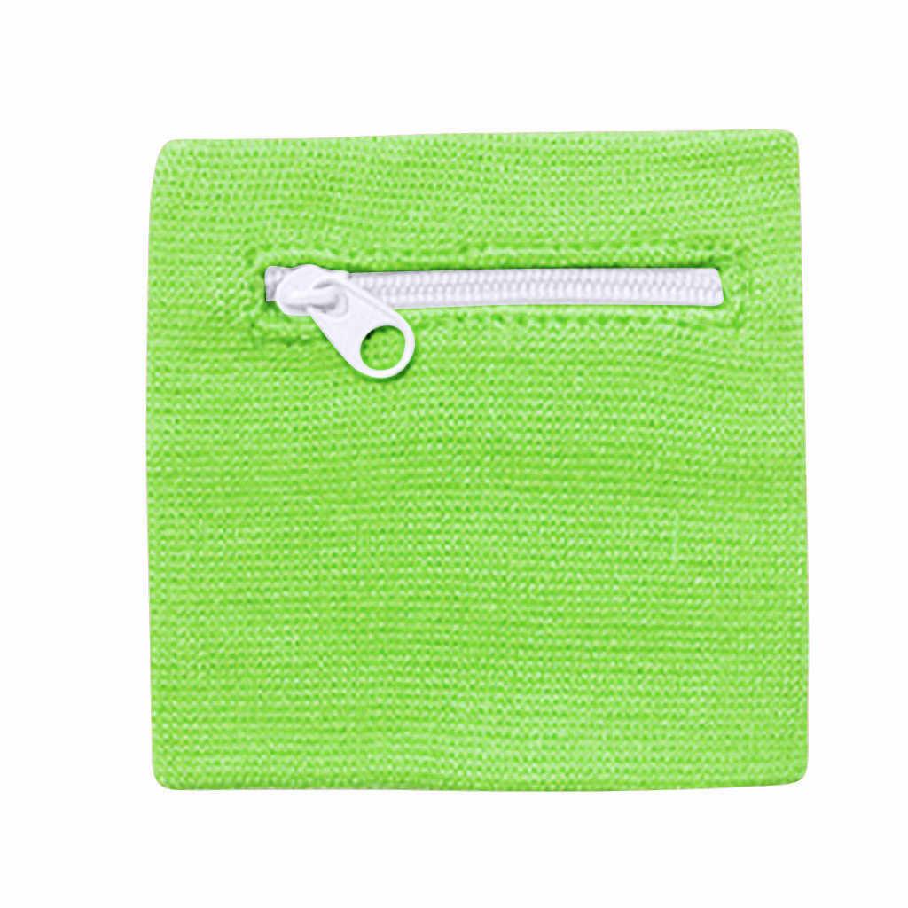 Bolso de la correa del brazo de correr de la Bolsa de la cartera de la muñeca de la cremallera para el bolso de almacenamiento de la tarjeta MP3