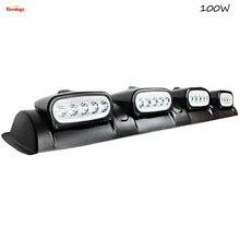 Fonte de 37.8 de Polegada 100 W Bridgelux Chips de luz 4 Luzes Em Um Farol Para Van SUV Ônibus Caminhão 12 V 24 V