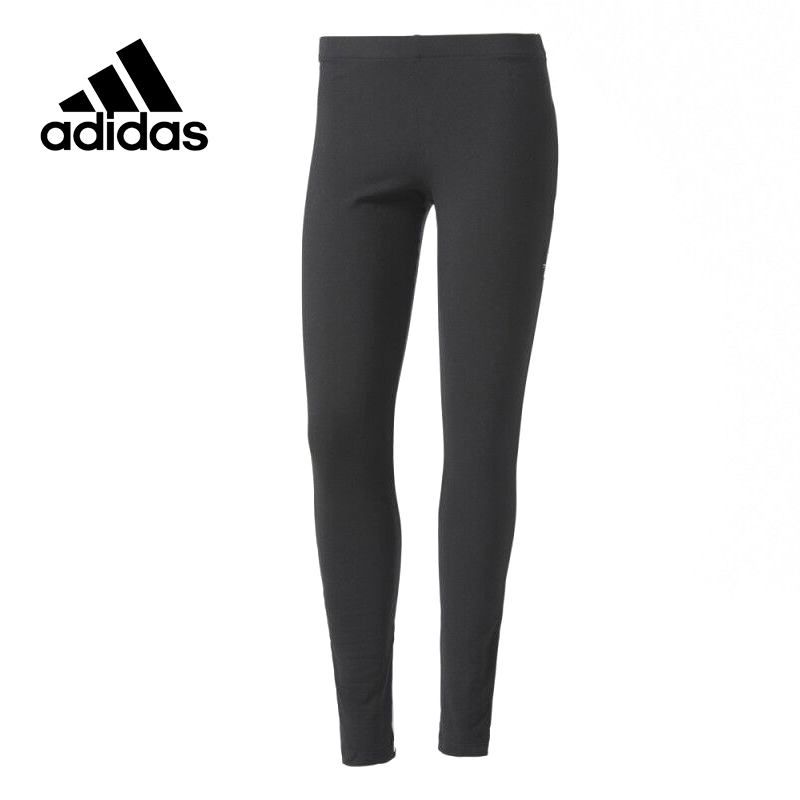Original New Arrival Official Adidas Women's Tight Elastic Waist Training Pants Sportswear adidas original new arrival official women s tight elastic waist full length pants sportswear aj8153