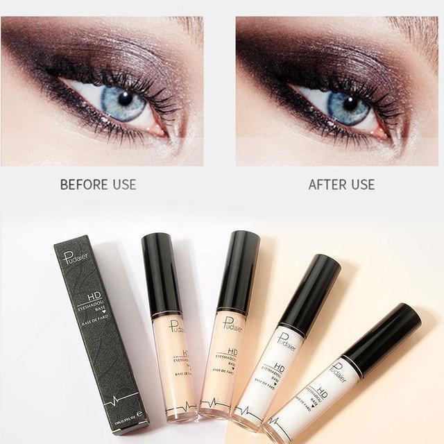 Pudaier Professional Makeup Base 2 Colors Face Foundation Primer Liquid Eye Shadow Primer Facial for Face Contour Concealer 5